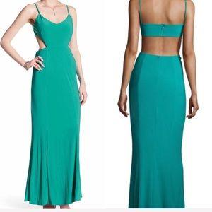 Laundry Shelli Green Cutout Dress Formal 10 prom